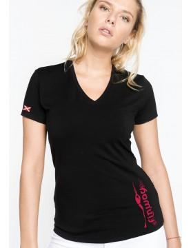 T-shirt Femme Electra Noir