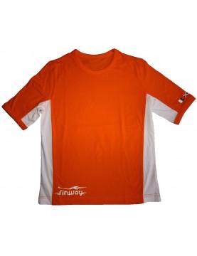 T-SHIRT TIGER KIDS Orange et Blanc