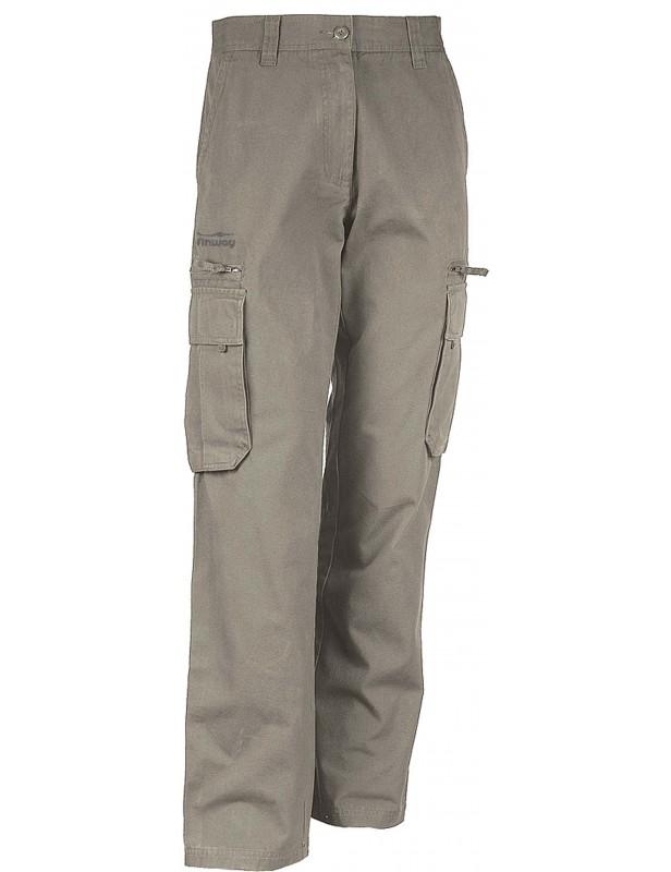 Pantalon Homme Multipoches Beige