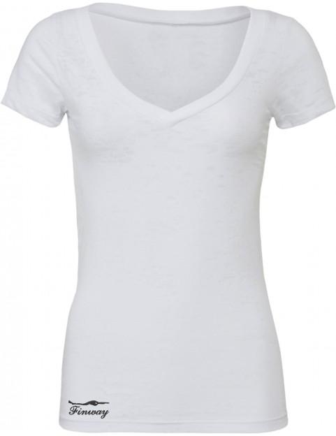 T-shirt Flammé Blanc