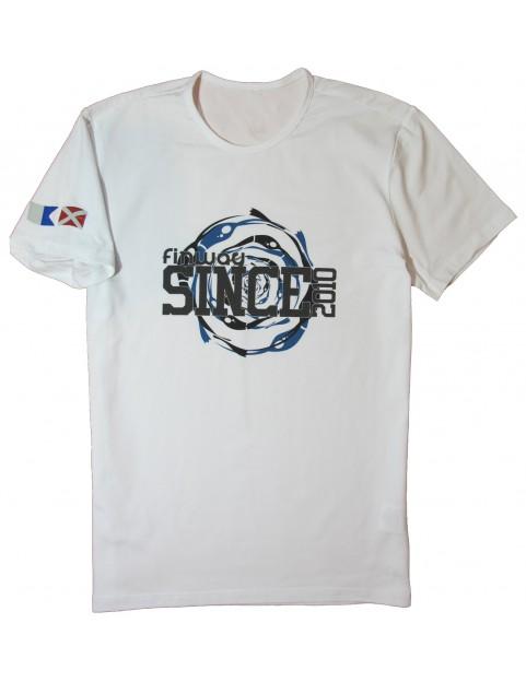 T-shirt Spirale Blanc
