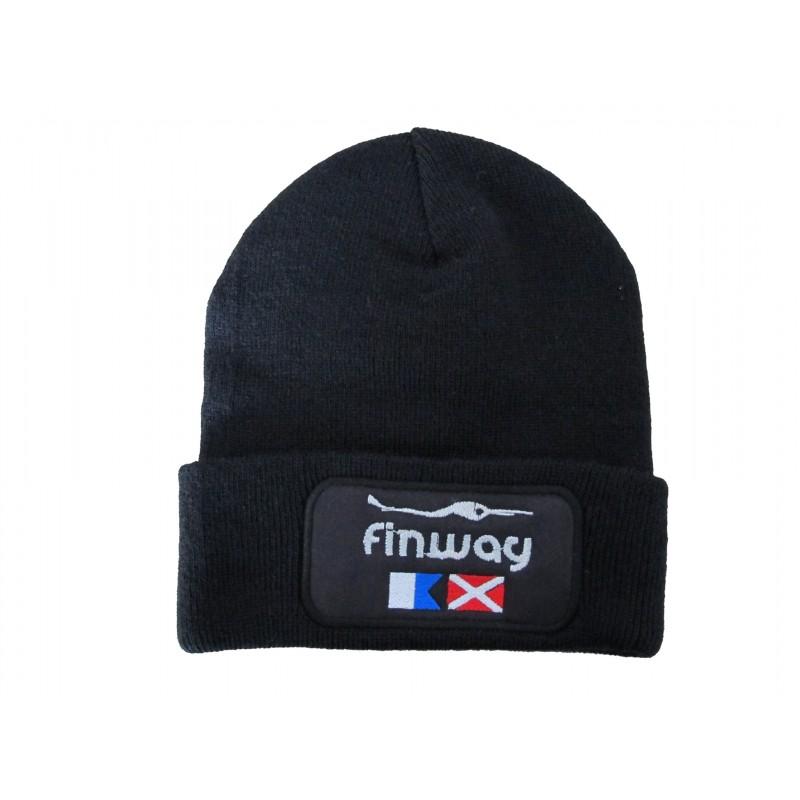 """Bonnet """"patch"""" Noir"""