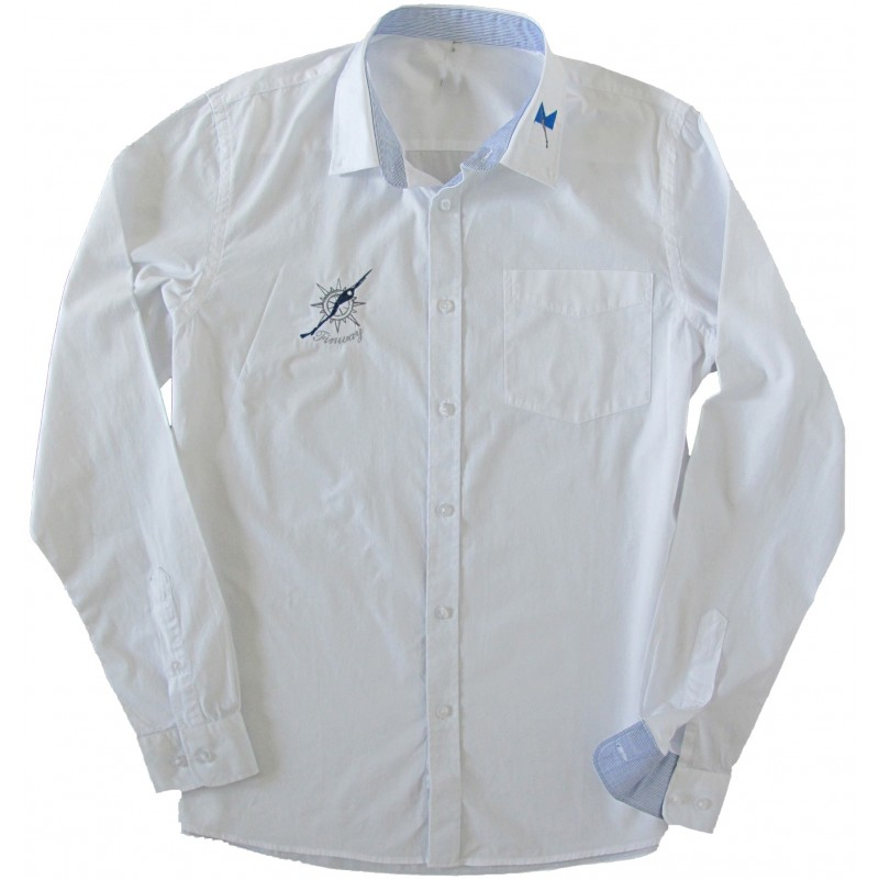 Chemise sailing Blanche