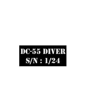 Logo DC55 Diver Coeur