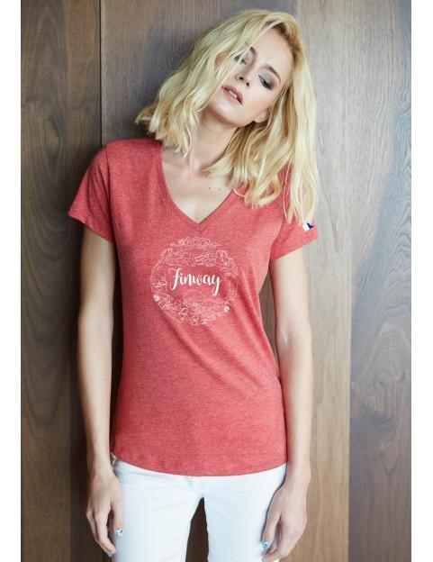 T-shirt Femme Chiné