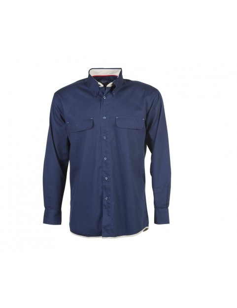 Chemise manches longues 2 poches