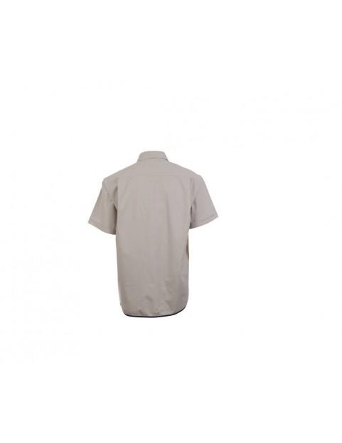 Chemise coton manches courtes