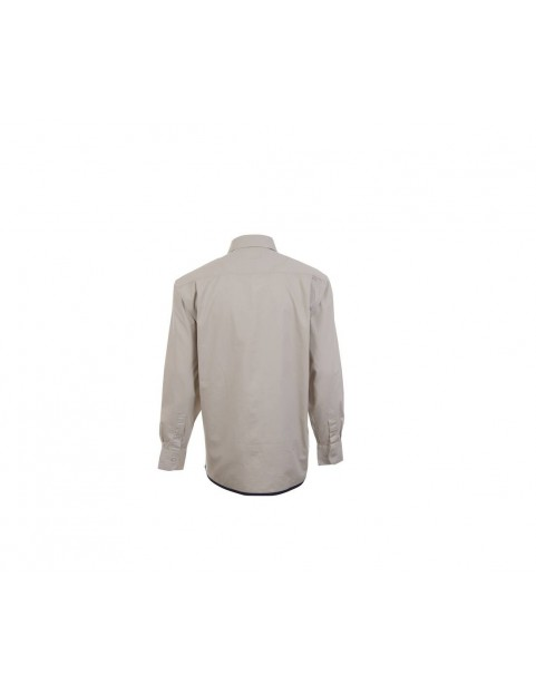 Chemise manches longues 100% coton