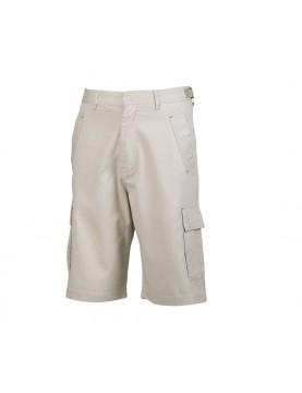 Bermuda poches plaquées en coton léger