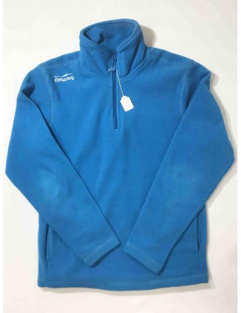 Polaire bleu (Taille S)