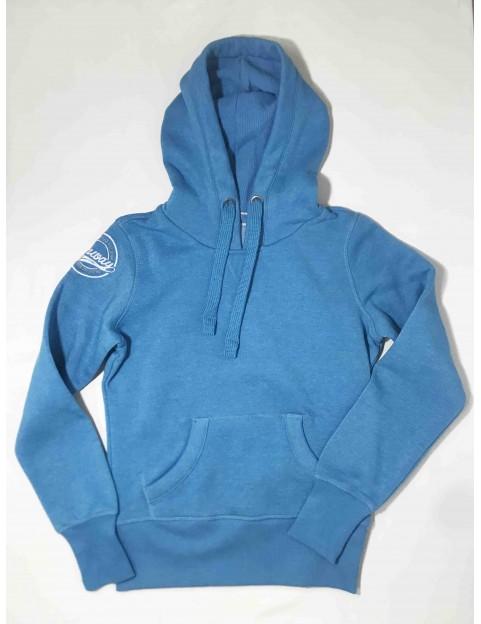 Sweat Bleu Femme (Taille S)