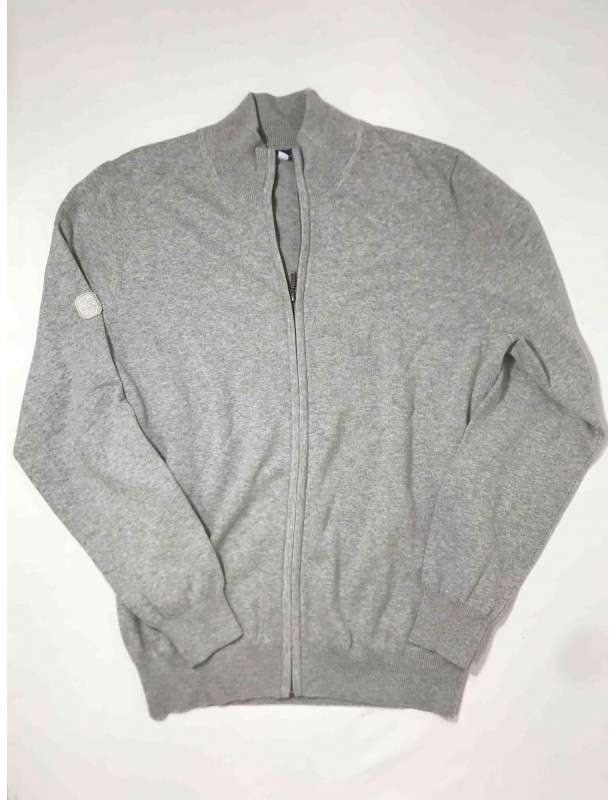 Cardigan gris homme (Taille M)