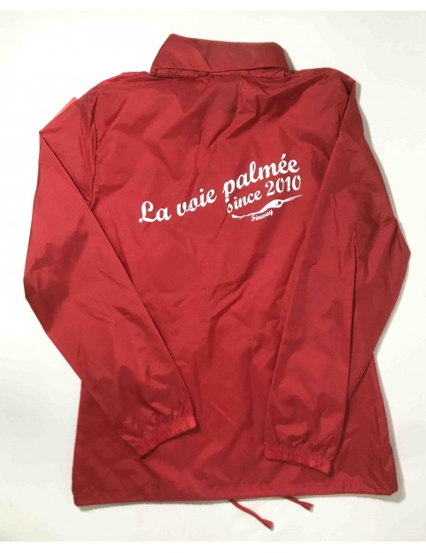 Coupe vent femme sirocco ROUGE (Taille M)