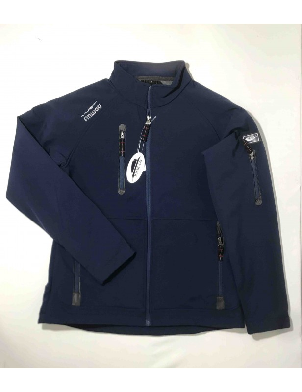 Veste Softshell Navy Homme (Taille M)