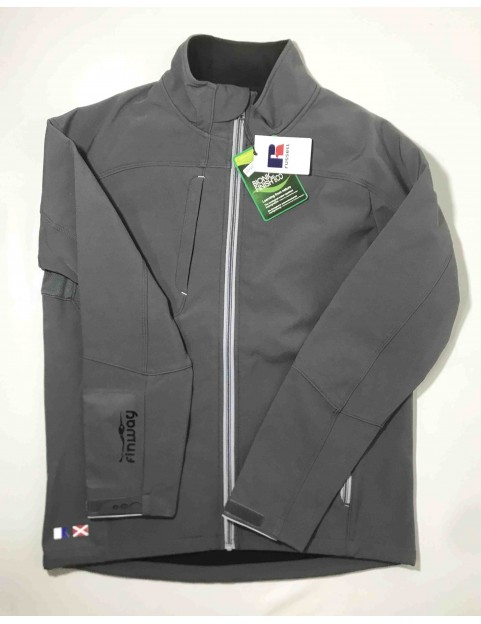 Veste homme Softshell Grise (Taille M)