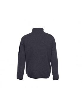 Veste polaire tricotée homme