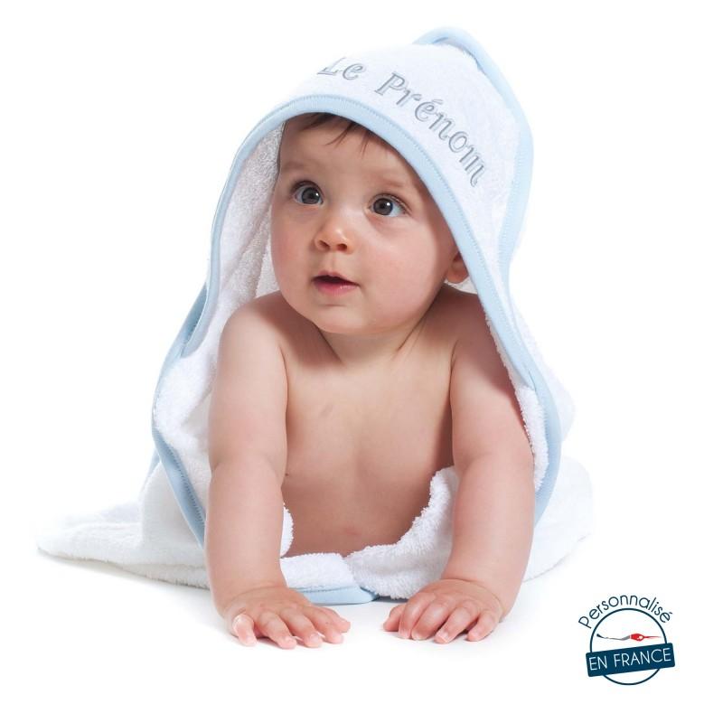 Sortie de bain bébé
